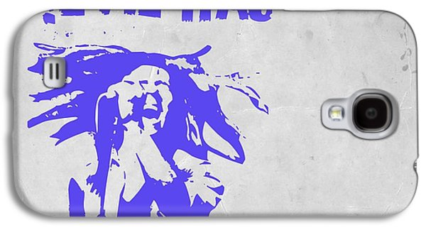 Bob Paintings Galaxy S4 Cases - Bob Marley Purple 2 Galaxy S4 Case by Naxart Studio