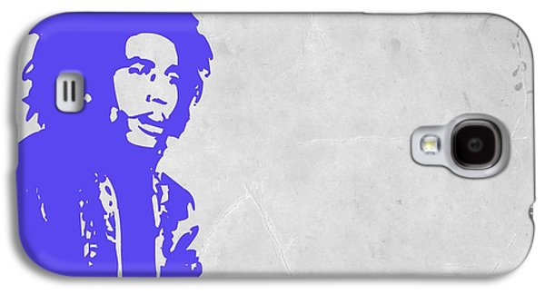 Bob Paintings Galaxy S4 Cases - Bob Marley Purple 3 Galaxy S4 Case by Naxart Studio