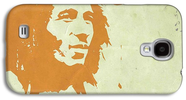 Bob Paintings Galaxy S4 Cases - Bob Marley Yellow 3 Galaxy S4 Case by Naxart Studio