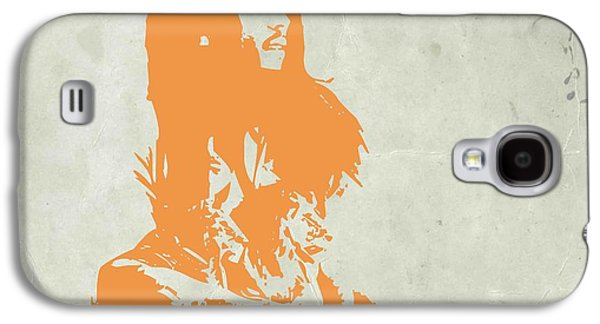 Collection Galaxy S4 Cases - Bob Marley Yellow 4 Galaxy S4 Case by Naxart Studio