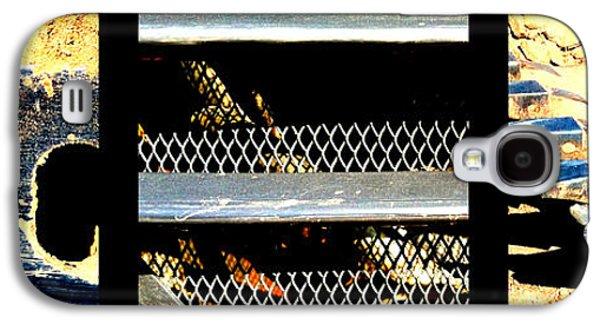 Machinery Galaxy S4 Cases - Bobcat Galaxy S4 Case by Marlene Burns