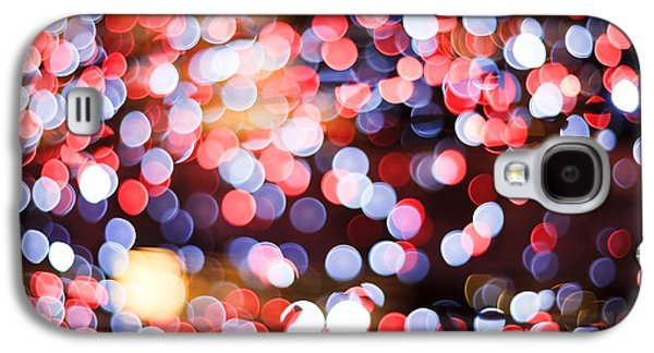 Blurred Galaxy S4 Cases - Bokeh Galaxy S4 Case by Setsiri Silapasuwanchai