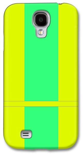 Forms Digital Art Galaxy S4 Cases - Bole Galaxy S4 Case by Naxart Studio