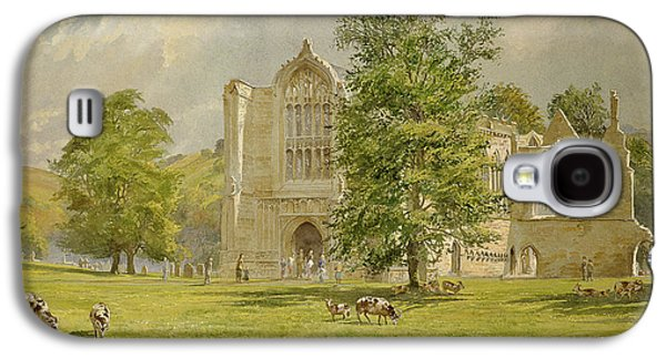 Tim Paintings Galaxy S4 Cases - Bolton Abbey  Galaxy S4 Case by Tim Scott Bolton