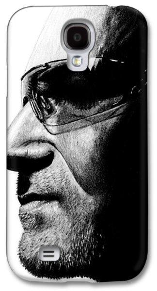 Bono Galaxy S4 Cases - Bono - Half the Man Galaxy S4 Case by Kayleigh Semeniuk
