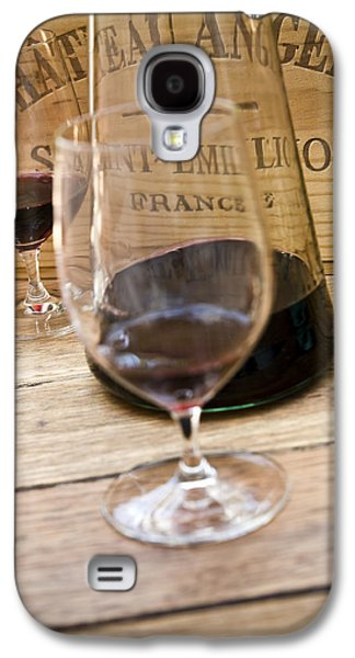 Wine Art Galaxy S4 Cases - Bordeaux Wine Tasting Galaxy S4 Case by Frank Tschakert