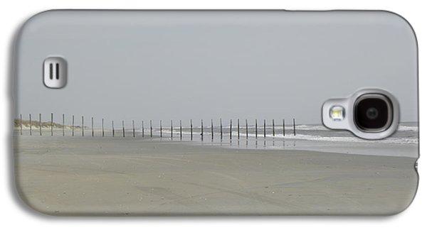 Beach Landscape Galaxy S4 Cases - Borderline VA NC USA Galaxy S4 Case by Kim Galluzzo Wozniak