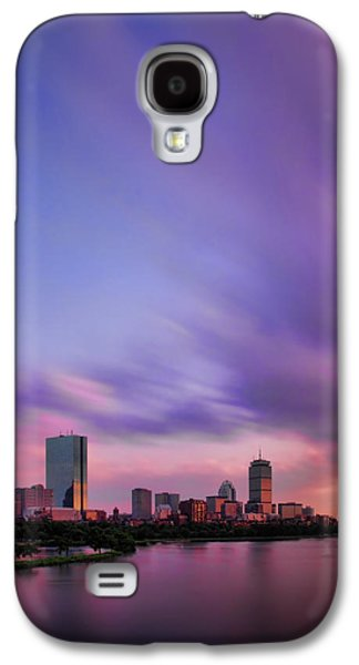 Charles River Galaxy S4 Cases - Boston Afterglow Galaxy S4 Case by Rick Berk
