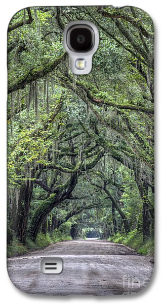 Botany Galaxy S4 Cases - Botany Bay Country Road Galaxy S4 Case by Dustin K Ryan