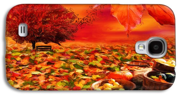 Vibrant Colors Digital Galaxy S4 Cases - Bounteous Galaxy S4 Case by Lourry Legarde