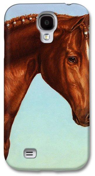 Braids Galaxy S4 Cases - Braided Galaxy S4 Case by James W Johnson