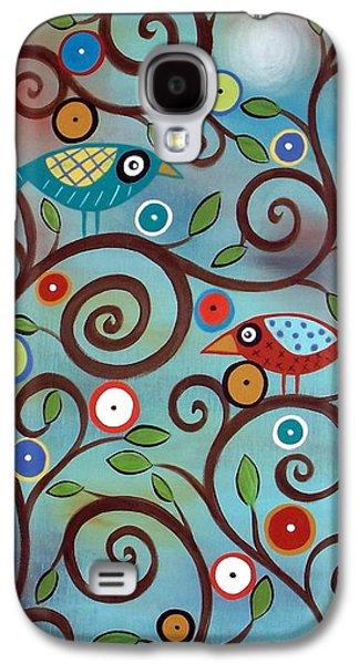Unique Art Galaxy S4 Cases - Branch Birds Galaxy S4 Case by Karla Gerard