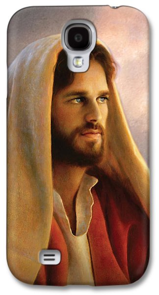 Eyes Galaxy S4 Cases - Bread of Life Galaxy S4 Case by Greg Olsen