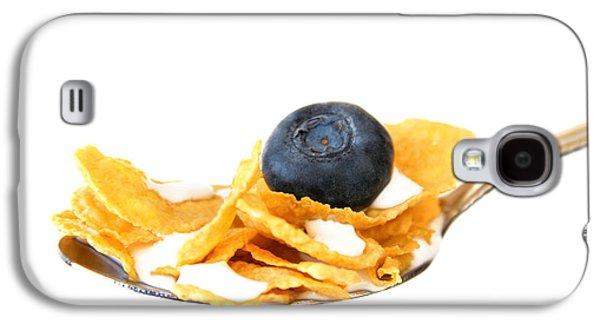 Kitchen Photos Galaxy S4 Cases - Breakfast Galaxy S4 Case by Darren Fisher