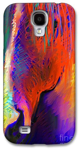 Svetlana Novikova Digital Art Galaxy S4 Cases - Bright Mustang horse Galaxy S4 Case by Svetlana Novikova