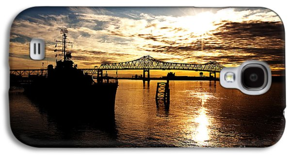 Louisiana Photographs Galaxy S4 Cases - Bright Time on the River Galaxy S4 Case by Scott Pellegrin