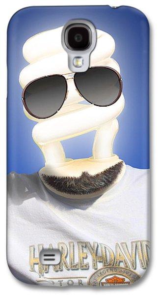 Shirt Digital Galaxy S4 Cases - Brighter Days Galaxy S4 Case by Mike McGlothlen