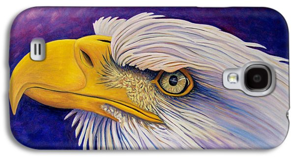 Eagle Paintings Galaxy S4 Cases - Bring Me A Higher Love Galaxy S4 Case by Brian  Commerford