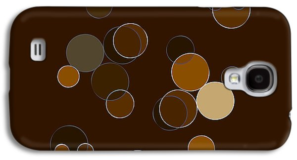 Abstract Forms Galaxy S4 Cases - Brown Abstract Galaxy S4 Case by Frank Tschakert
