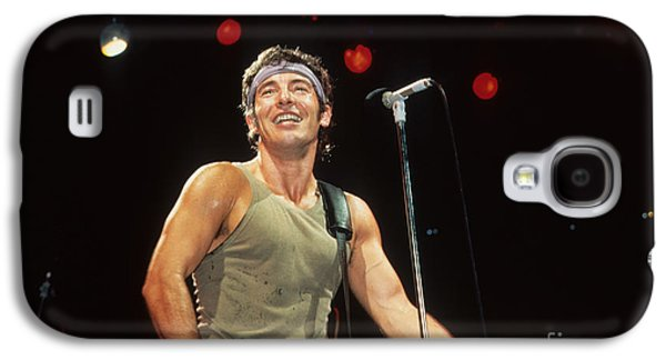 Bruce Springsteen Photographs Galaxy S4 Cases - Bruce Springsteen Galaxy S4 Case by Rich Fuscia