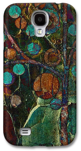 Realism Mixed Media Galaxy S4 Cases - Bubble Tree - spc01ct04 - Left Galaxy S4 Case by Variance Collections