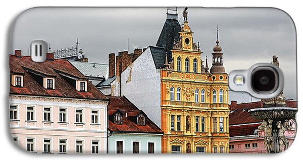 Budvar Galaxy S4 Cases - Budweis - Pearl of Bohemia - Czech Republic Galaxy S4 Case by Christine Till
