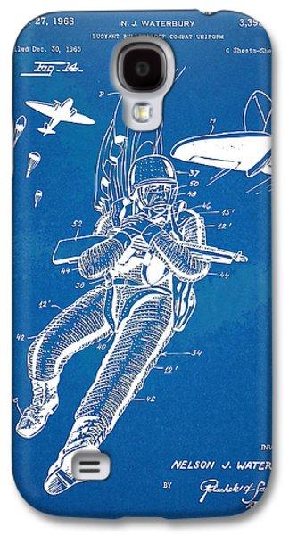 Fight Digital Art Galaxy S4 Cases - Bulletproof Patent Artwork 1968 Figure 14 Galaxy S4 Case by Nikki Marie Smith