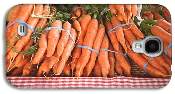 Food And Beverage Pyrography Galaxy S4 Cases - Bunch of carrots Galaxy S4 Case by Hiroko Sakai