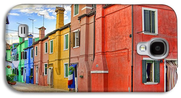 Recently Sold -  - Abstract Digital Pyrography Galaxy S4 Cases - Burano 2 Galaxy S4 Case by Mauro Celotti