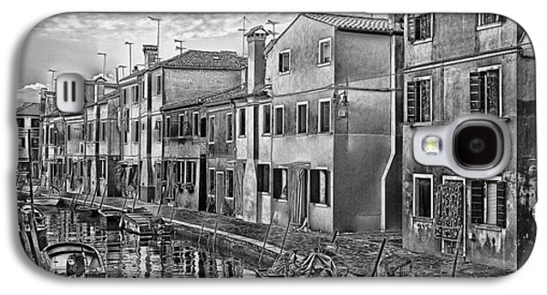 Recently Sold -  - Abstract Digital Pyrography Galaxy S4 Cases - Burano 3 Galaxy S4 Case by Mauro Celotti