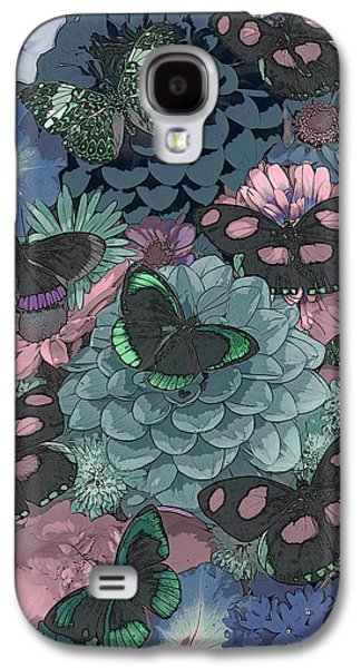 Butterflies Galaxy S4 Cases - Butterflies Galaxy S4 Case by JQ Licensing