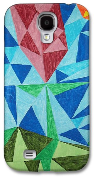 Photo Manipulation Paintings Galaxy S4 Cases - By Any Other Name Galaxy S4 Case by Jimi Bush