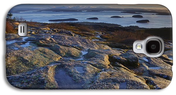 Maine Mountains Galaxy S4 Cases - Cadillac Mountain and Frenchmans Bay Galaxy S4 Case by Rick Berk