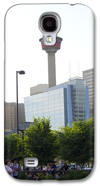 Duchess Of Cambridge Galaxy S4 Cases - Calgary Tower View 2 Galaxy S4 Case by Donna Munro