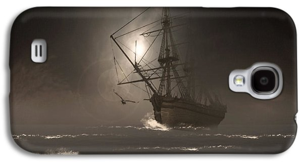 Ghostly Galaxy S4 Cases - Call Of The Hoot Galaxy S4 Case by Lourry Legarde