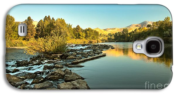 Haybale Galaxy S4 Cases - Calm Payette Galaxy S4 Case by Robert Bales