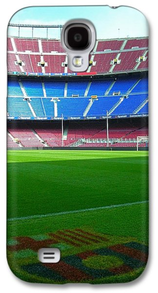 Spanien Galaxy S4 Cases - Camp Nou - Barcelona Galaxy S4 Case by Juergen Weiss