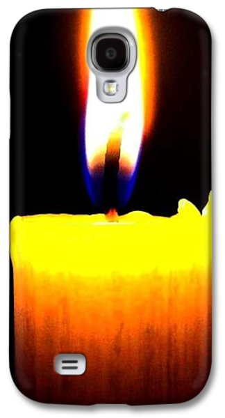 Will Power Photographs Galaxy S4 Cases - Candle Power Galaxy S4 Case by Will Borden