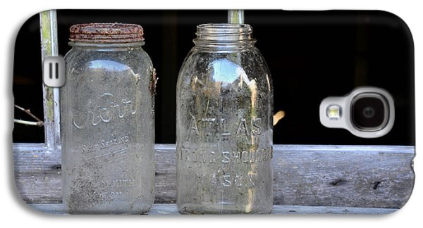 Mason Jars Galaxy S4 Cases - Canning Jars Galaxy S4 Case by Todd Hostetter