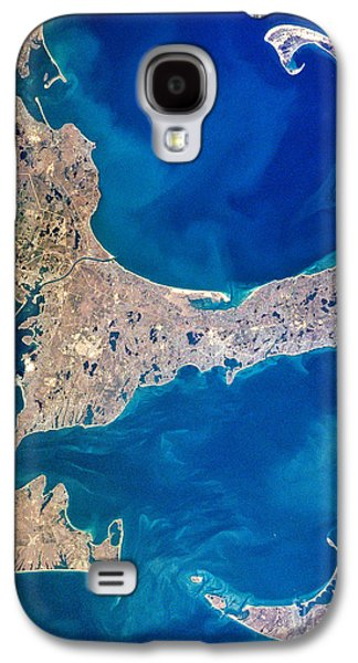 Martha Galaxy S4 Cases - Cape Cod and Islands Spring 1997 view from satellite Galaxy S4 Case by Matt Suess
