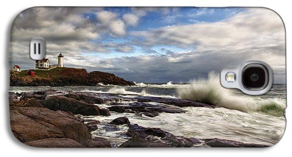 Cape Neddick Galaxy S4 Cases - Cape Neddick Maine Galaxy S4 Case by Rick Berk