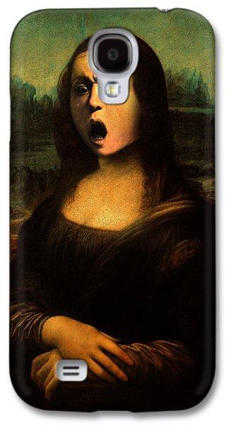 Caravaggio Galaxy S4 Cases - Caravaggios Mona Galaxy S4 Case by Gravityx Designs