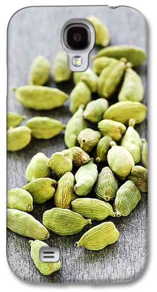 Pods Galaxy S4 Cases - Cardamom seed pods Galaxy S4 Case by Elena Elisseeva
