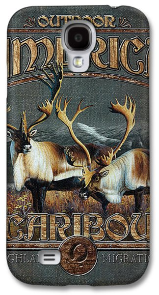 Cynthie Fisher Galaxy S4 Cases - Caribou Galaxy S4 Case by JQ Licensing