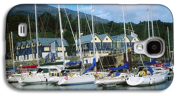 Carlingford Marina, Carlingford, County Galaxy S4 Case by The Irish Image Collection