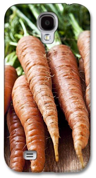 Local Food Galaxy S4 Cases - Carrots Galaxy S4 Case by Elena Elisseeva