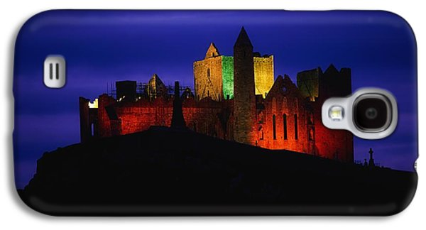 Monasticism Galaxy S4 Cases - Cashel Rock, Co Tipperary, Ireland Galaxy S4 Case by The Irish Image Collection