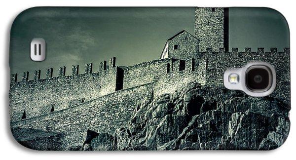 Castle Photographs Galaxy S4 Cases - Castelgrande Bellinzona Galaxy S4 Case by Joana Kruse