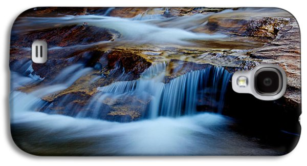 Outdoor Galaxy S4 Cases - Cataract Falls Galaxy S4 Case by Chad Dutson