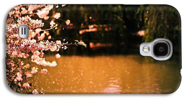 Cherry Blossoms Galaxy S4 Cases - Catching the Light of Spring Galaxy S4 Case by Vivienne Gucwa